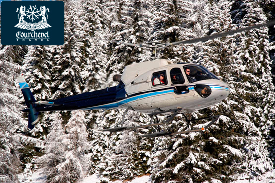 Single Helicopter Eurocopter AS350 Squirrel Courchevel