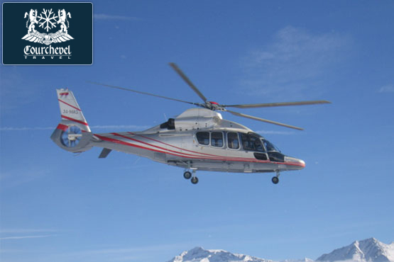 Twin Helicopter Eurocopter EC155 Squirrel Courchevel