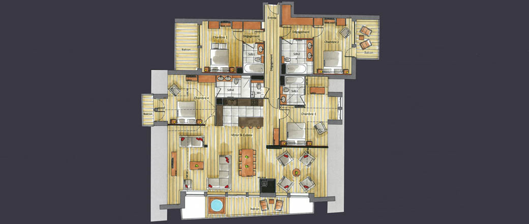 Apartment CT-0338