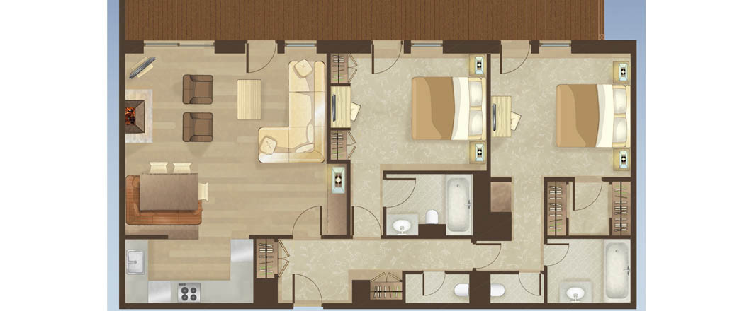 Apartment Portetta Loft 2