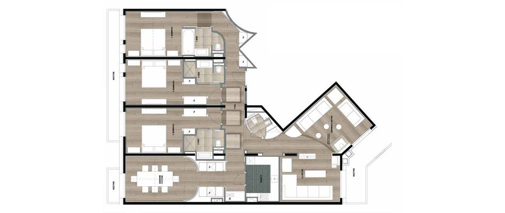 Apartment CT-0076