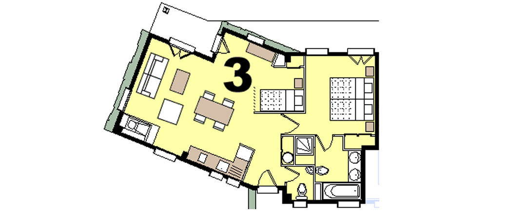 Apartment CT-0107