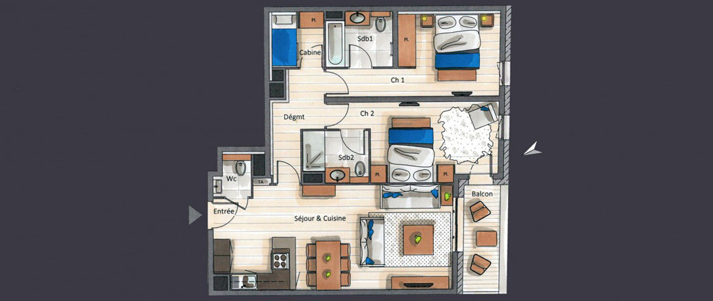 Apartment CT-0189