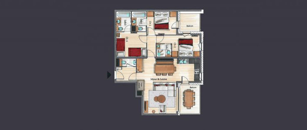 Apartment CT-0428