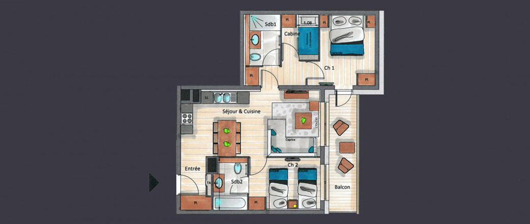 Appartement CT-0325