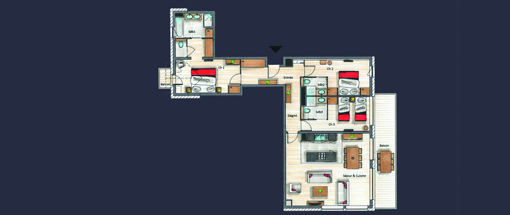 Apartment CT-0500