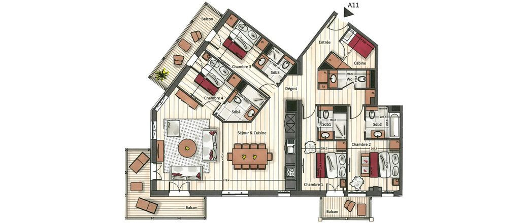 Apartment CT-0615
