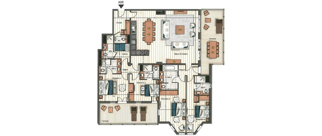 Apartment CT-0652