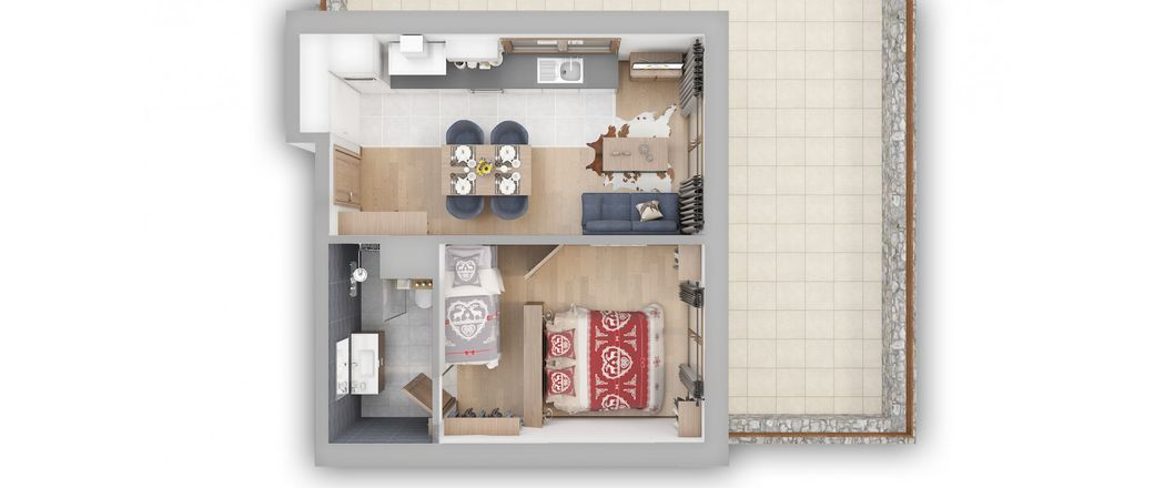 Apartment CT-0747