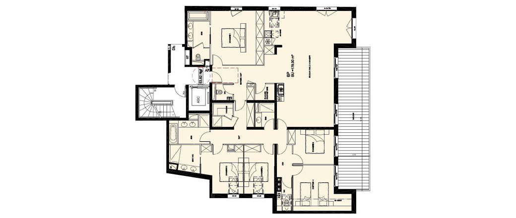 Apartment CT-0400