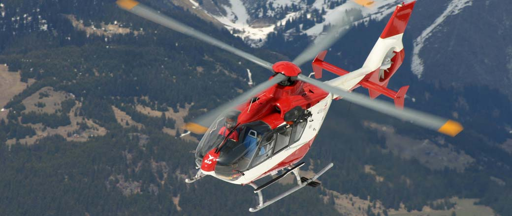 Helicopter tours from Courchevel