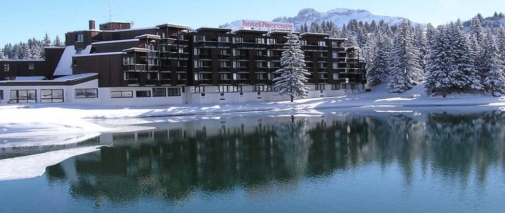 Hotel mercure 33 0 975 170 836 hotel courchevel 1850 for Le jardin hotel mercure