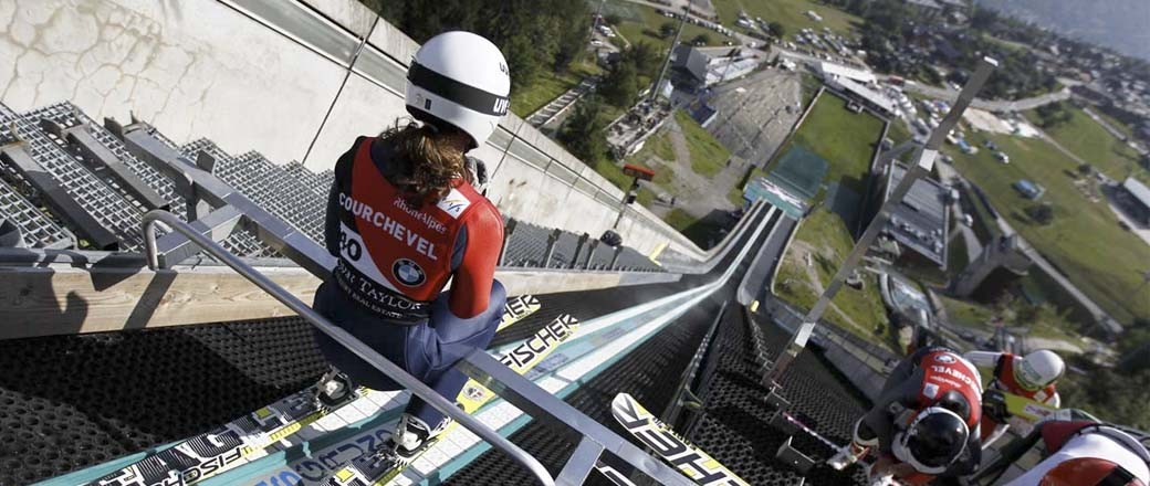 SKI-JUMPING, A COURCHEVEL TRADITION