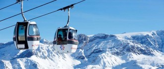 THE SKI LIFT EPIC : FROM COURCHEVEL TO LA SAULIRE