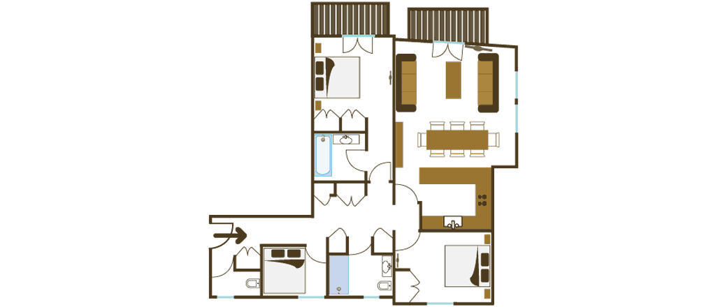 Apartment CT-0099