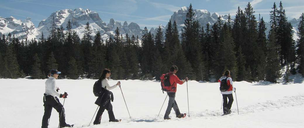 Snowshoe Walking in Courchevel