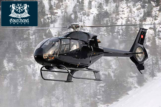 Single Helicopter EC120 Courchevel
