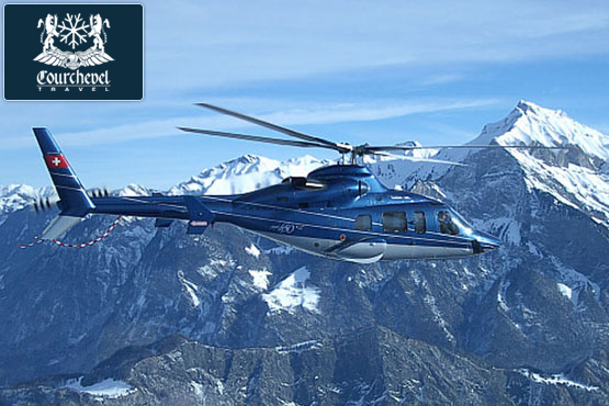 Twin Helicopter Bell 430  Courchevel