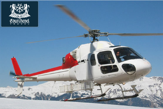 Twin Helicopter AS355 Squirrel Courchevel