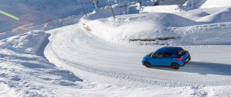 Ice Driving Valthorens